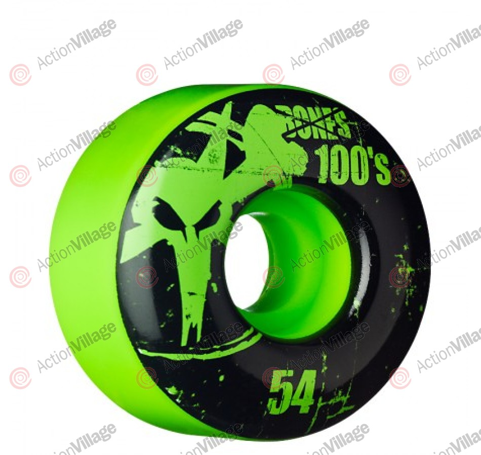 Bones OG. Formula V1 - Green - 54mm - Skateboard Wheels