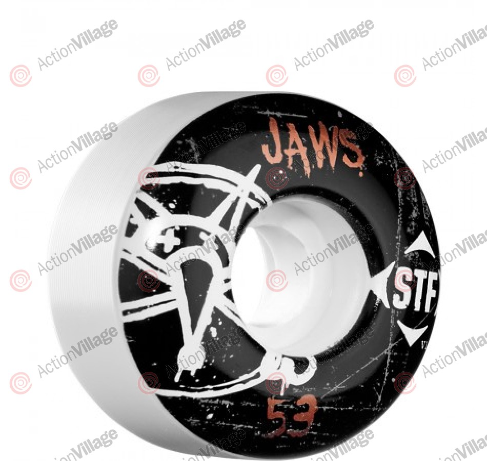 Bones Pro Team Homoki Oh Gee Street Tech Formula STF - White - 53mm - Skateboard Wheels