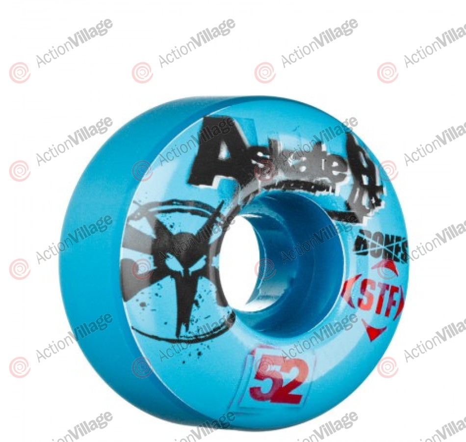 Bones Street Tech Formula STF Collabo A-Skate Benefit - Blue - 52mm - Skateboard Wheels