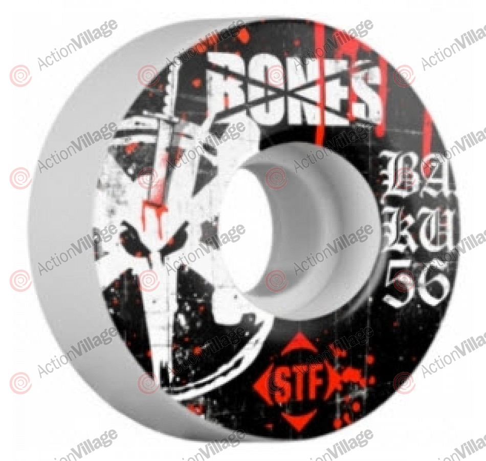 Bones Street Tech Formula STF Barrier Kult - White - 56mm - Skateboard Wheels