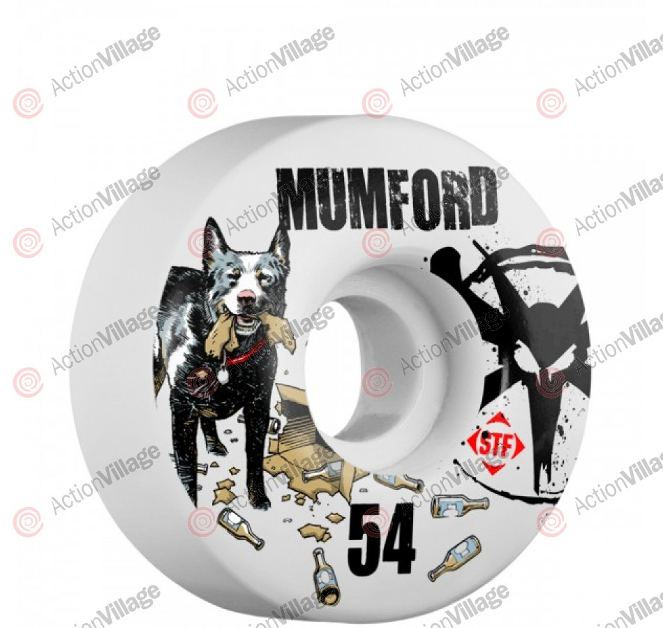 Bones Mumford Blue Dog Street Tech V1 - 54mm - Skateboard Wheels