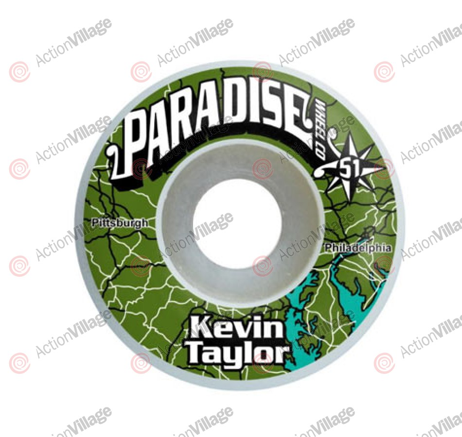 Paradise Wheels City Series Taylor - 51mm - Skateboard Wheels