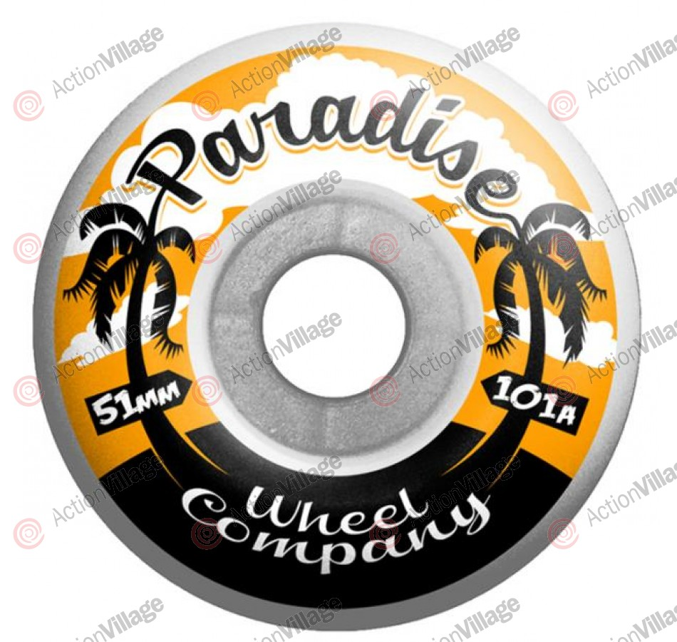 Paradise Wheels Palms - 51mm - Skateboard Wheels