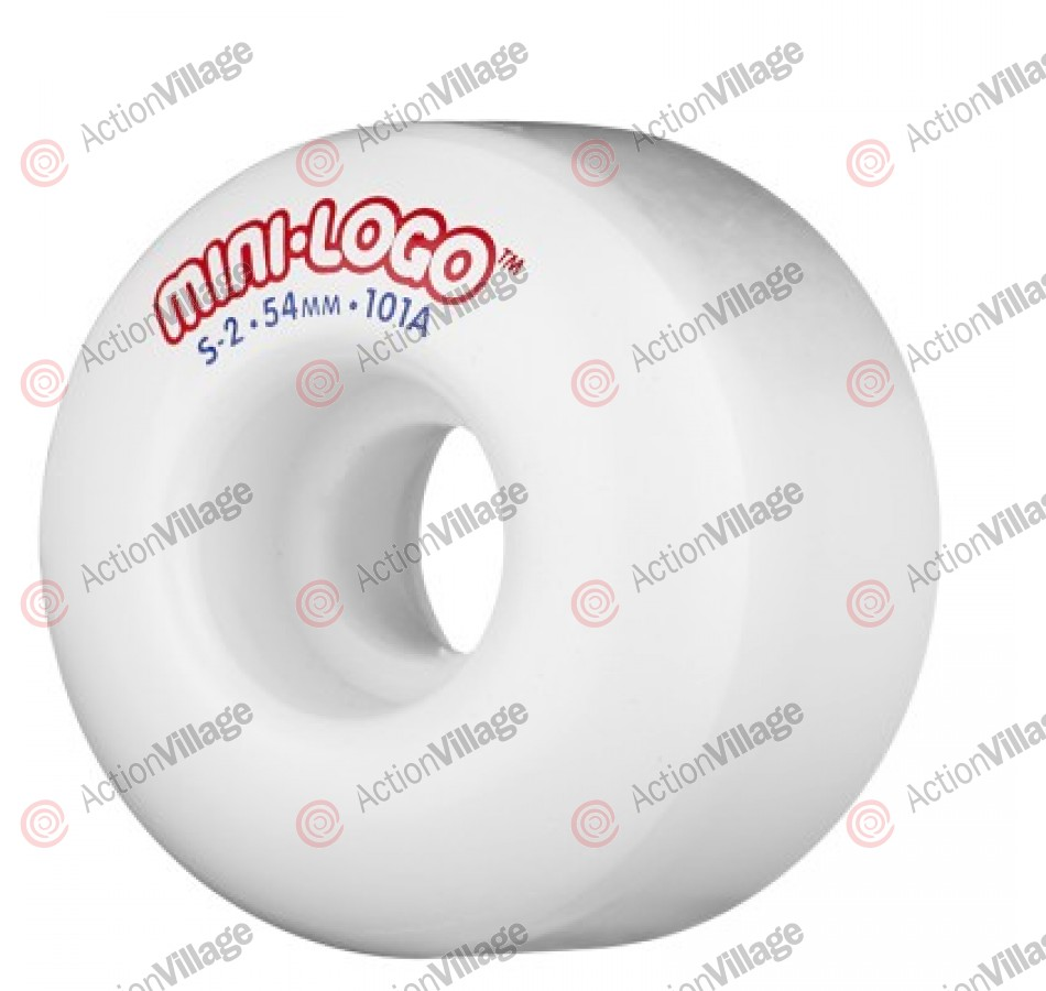 Mini Logo S2 - 101A 54mm - White - Skateboard Wheels