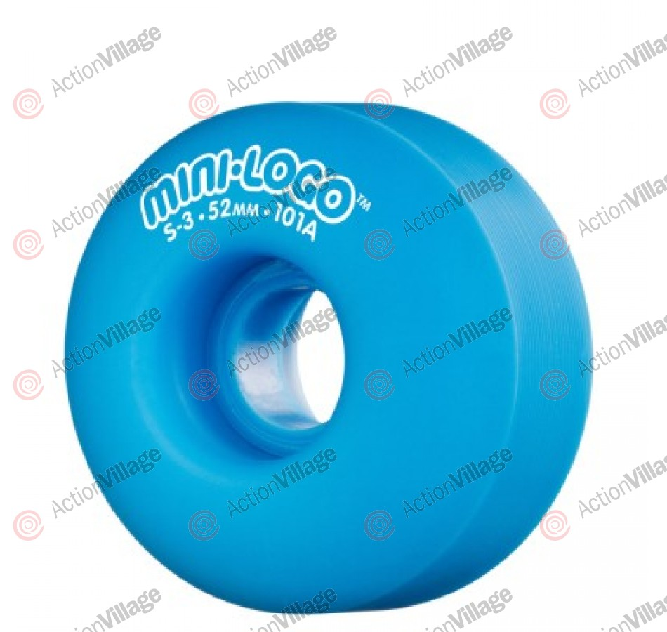 Mini Logo S3 - 101A 52mm - Blue - Skateboard Wheels