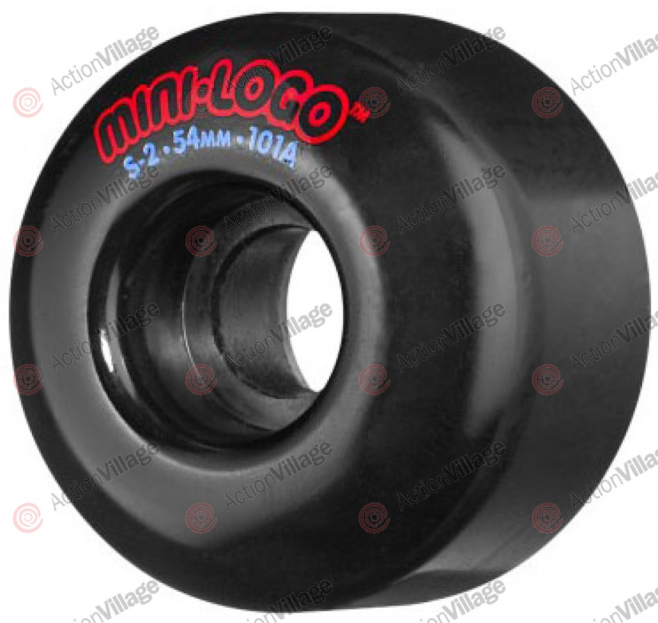 Mini Logo S2 Performance - Black - 54mm - 101a - Skateboard Wheels