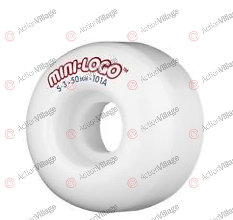 Mini Logo S3 - White - 50mm - 101a -Skateboard Wheels