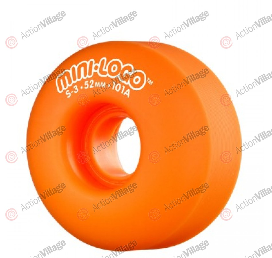 Mini Logo S3 - Orange - 53mm - 101a -Skateboard Wheels