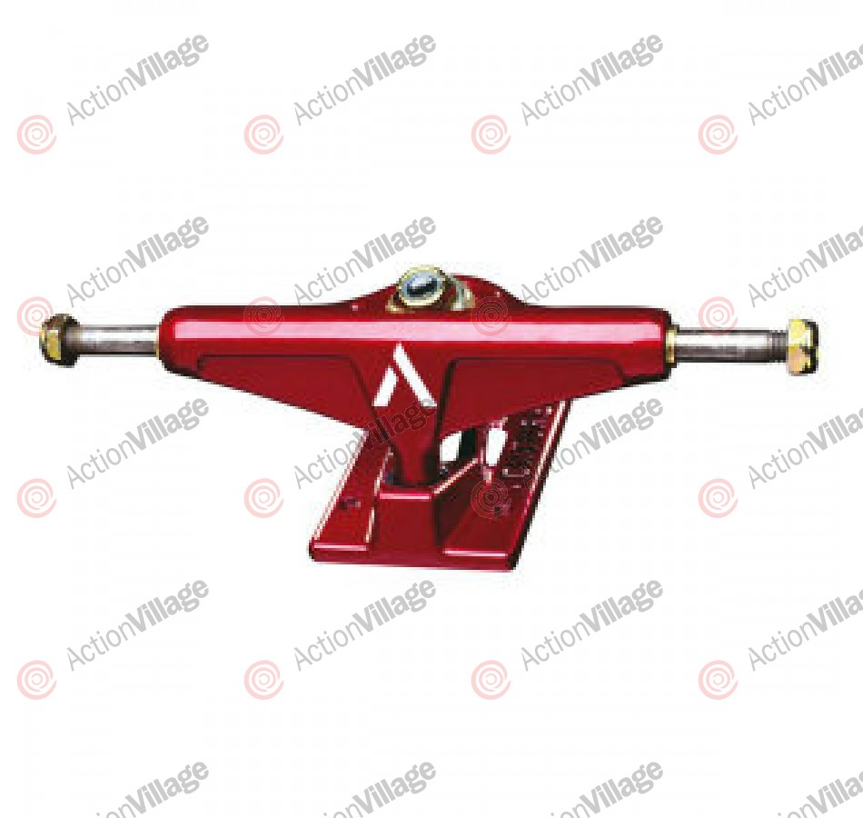 Venture 5.25 Low, Red Candy Apple Truck - Skateboard Trucks