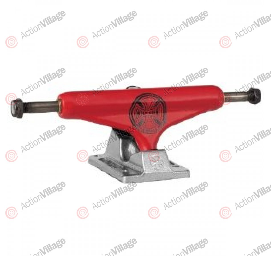 Independent 149 Stage 10 TC Series Red Silver Trucks Standard- Skateboard Trucks (Set Of 2)