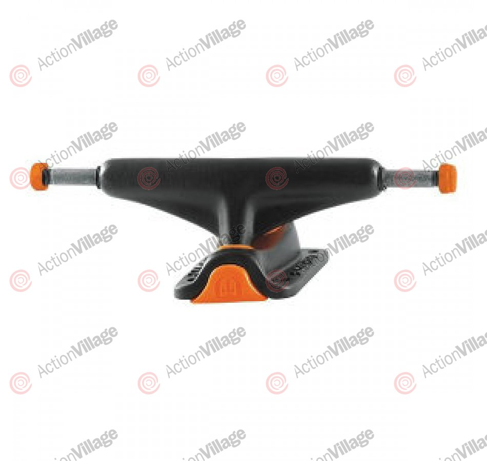 Tensor MidSld Colored - Skateboard Trucks - Gloss Black/Gloss Black - 5.0
