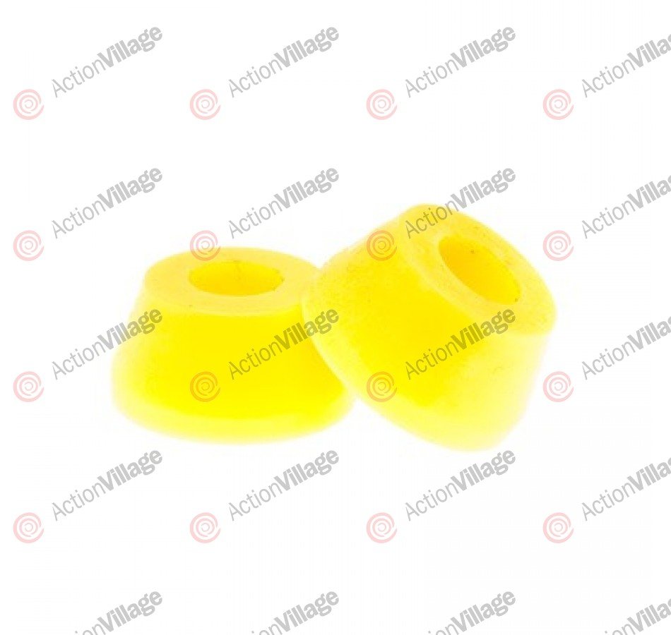 Reflex SHORT Conical Bushing - Lemon - 83a - Skateboard Bushings