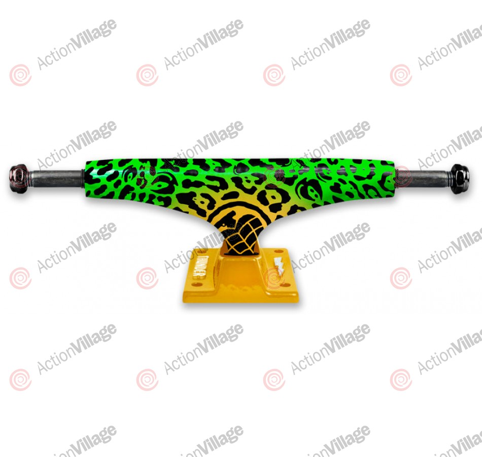 Thunder Animal - Green/Yellow - Low - 145mm - Skateboard Trucks
