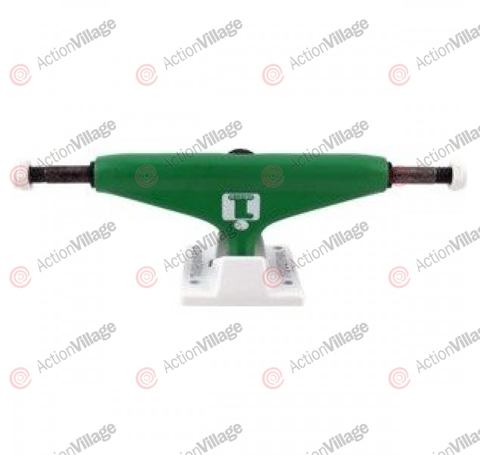 Industrial Boston - Green/White - 5.25 - Skateboard Trucks