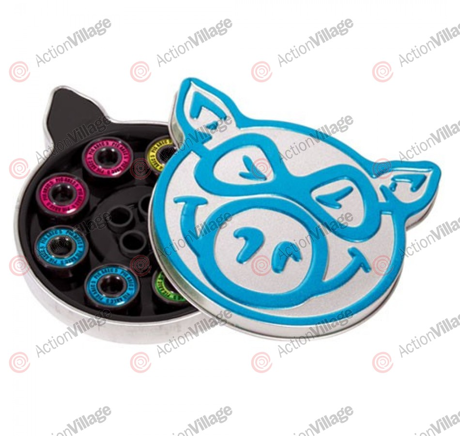 Pig Bearings Neon Abec 5 - Skateboard Bearings