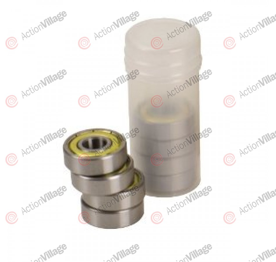 Bullet Tube of 8 Bullet Proofs Bearing 3s - Skateboard Bearings