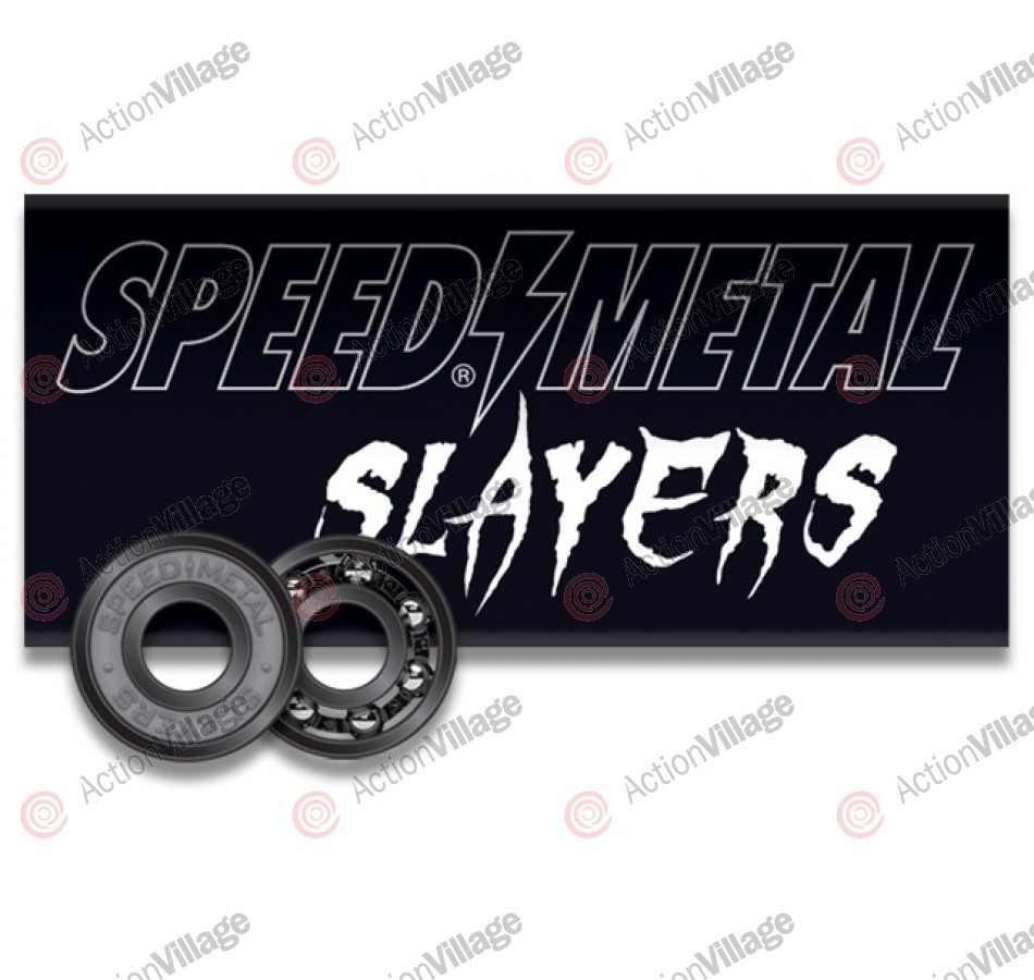 Speed Metal Slayers Abec 3 - Skateboard Bearings