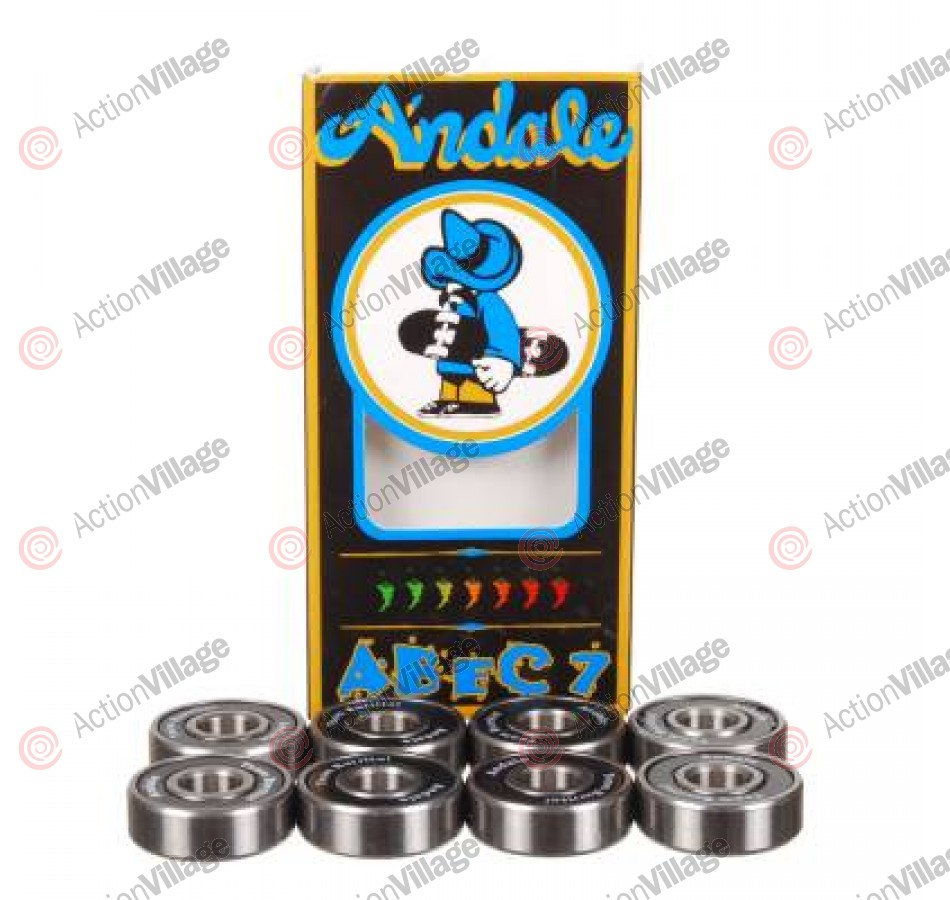 Andale Abec 7 Bearing Set - Skateboard Bearings