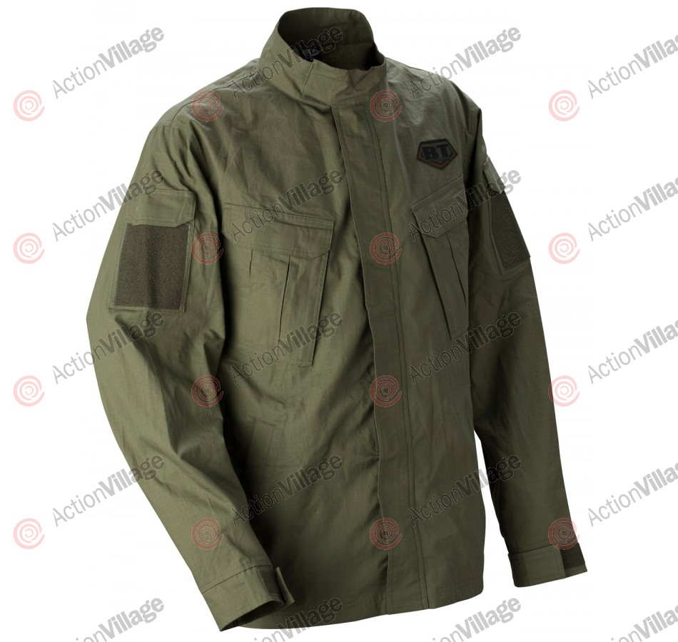 BT 2011 BTU Paintball Shirt - Olive