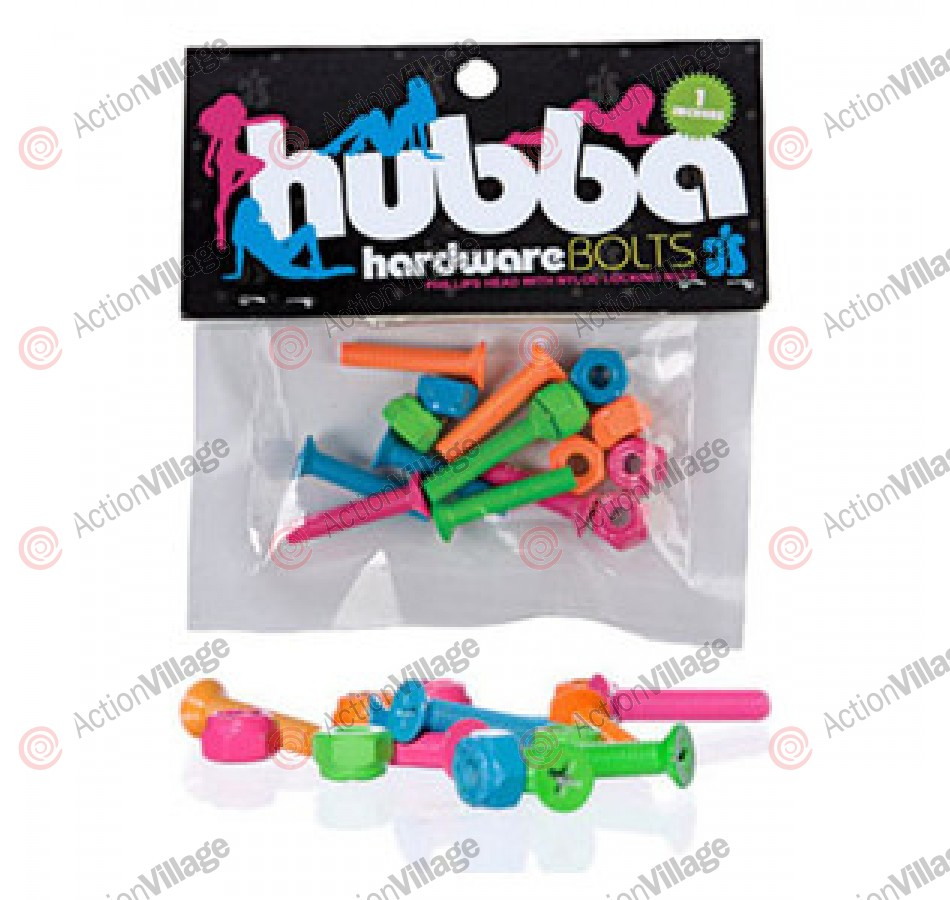 Hubba Wheels Hardware Neon - 1