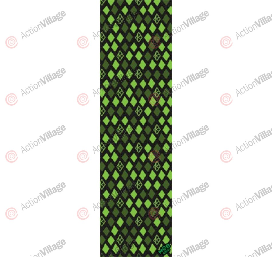 Krooked Grip Tape Diamond Green 9in x 33in - Griptape