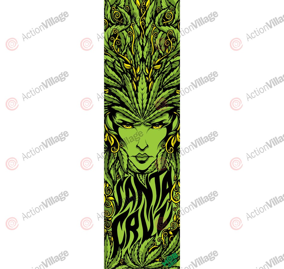 Mob Santa Cruz Weed Goddess Grip Tape 9in x 33in  - 1 Sheet - Skateboard Griptape