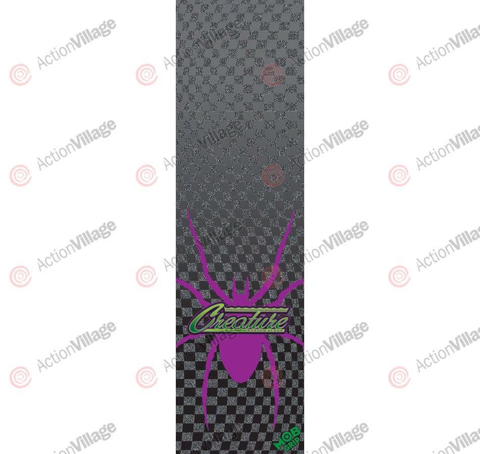 Mob Creature 72Cutmore Grip Tape 9in x 33in  - 1 Sheet - Skateboard Griptape