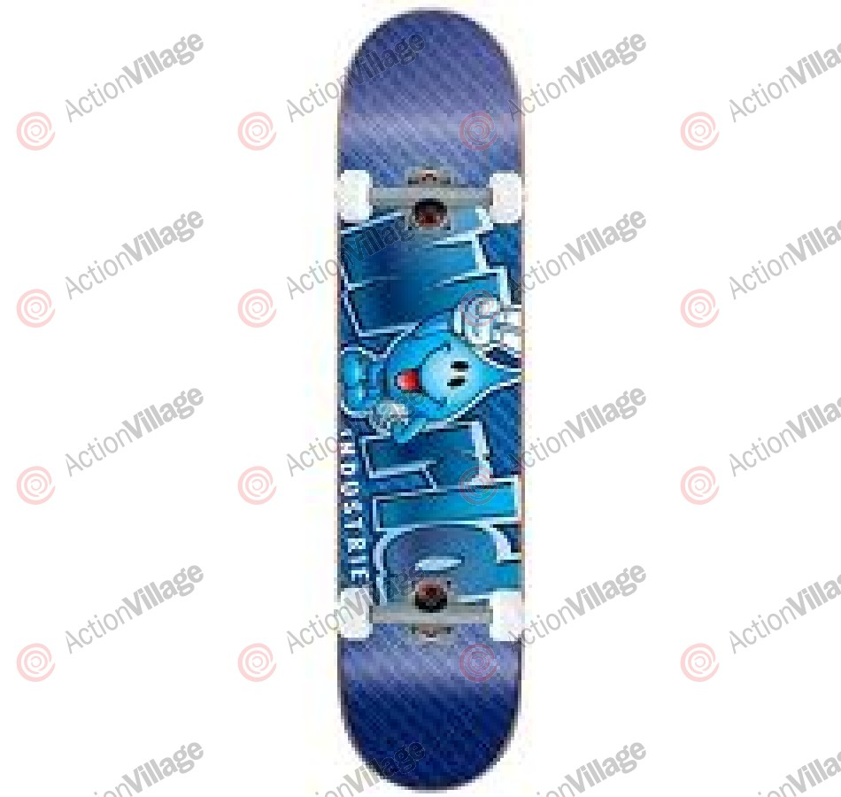 World Industries Willy Blue Logo - Blue - 7.4 - Complete Skateboard