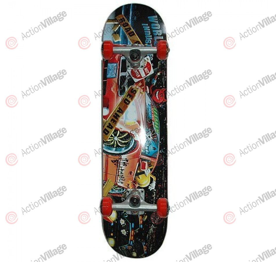 World Industries Joy Ride - Black - 7.6 - Complete Skateboard