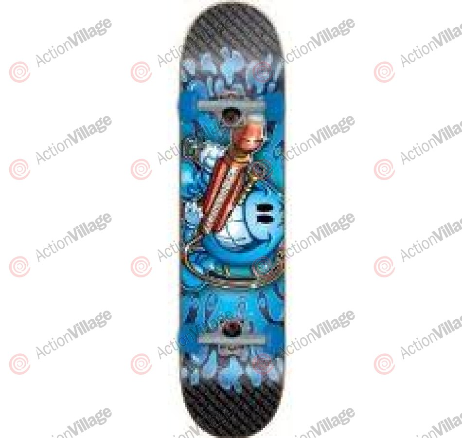 World Industries Water Cannon - Black/Blue - 7.6 - Complete Skateboard