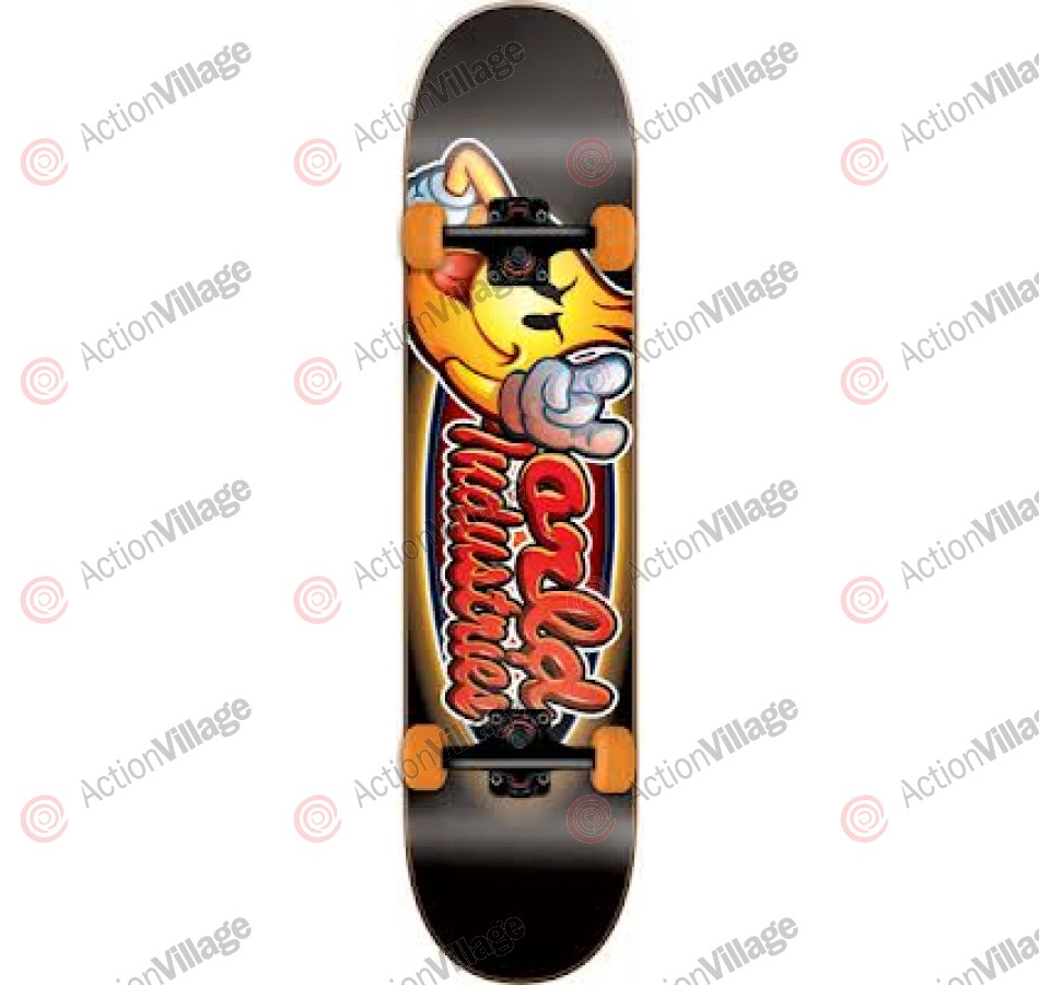 World Industries Looney Flameboy - Black - 7.6 - Complete Skateboard