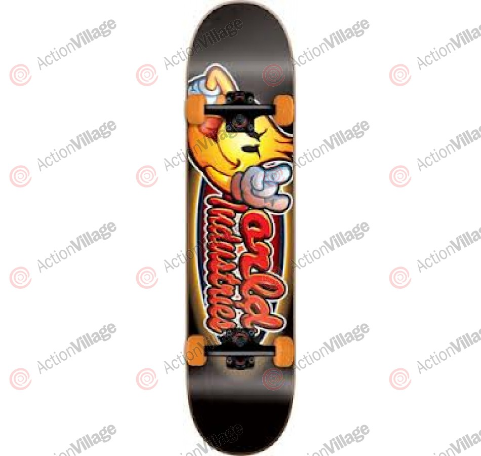 World Industries Looney Flameboy Mini - Black - 7 - Complete Skateboard