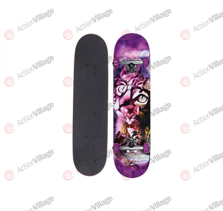 Speed Demons Moon Shadow - Purple - 7.75 - Complete Skateboard