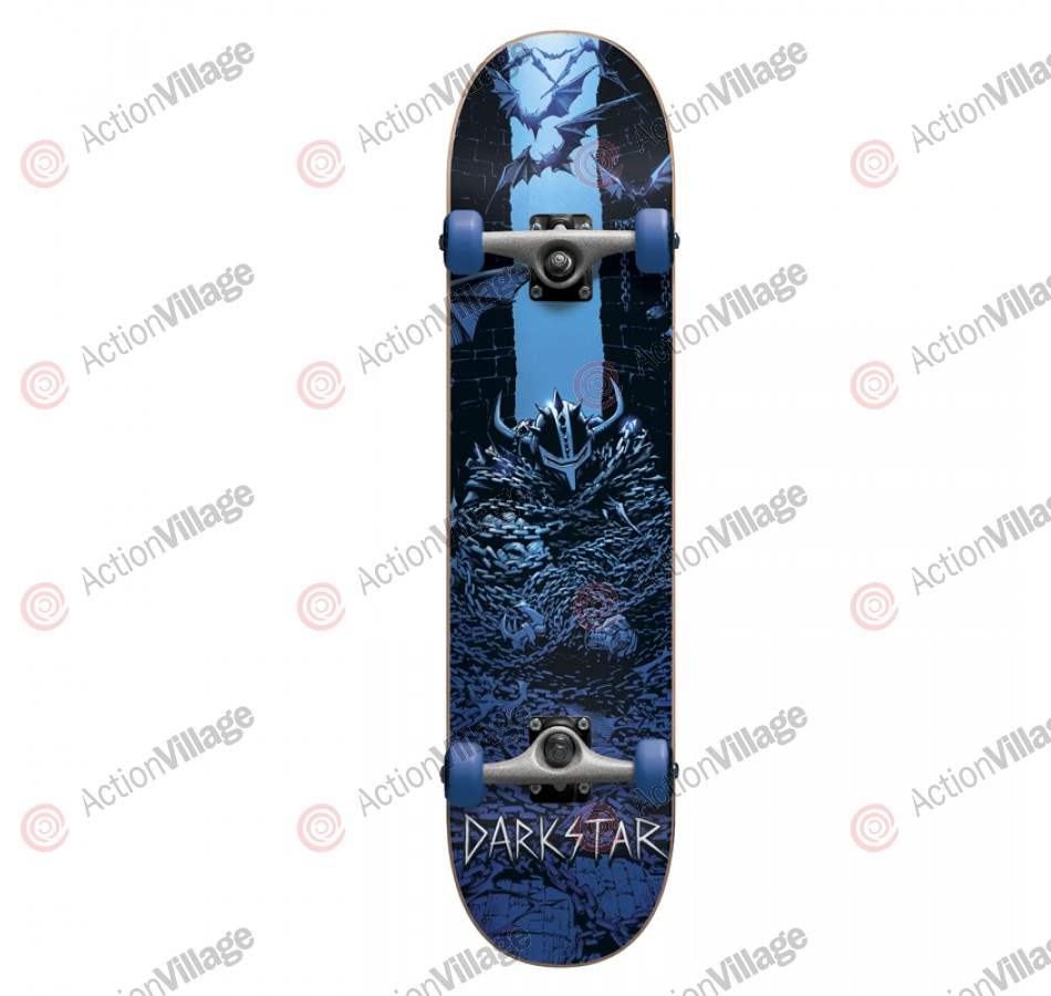 Darkstar Escape - Blue - 8.0 - Complete Skateboard