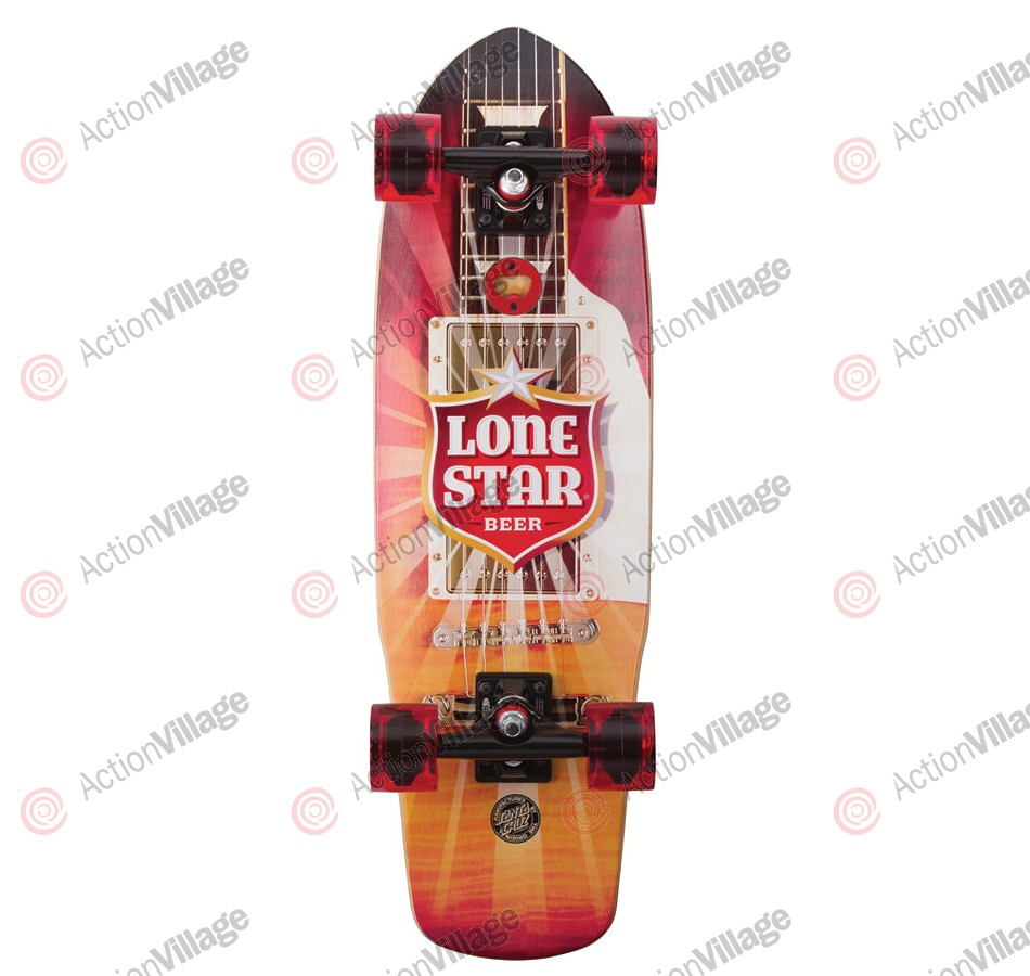 Santa Cruz PBC Lonestar Amped Cruzer 8.5in x 28.5in - Complete Skateboard
