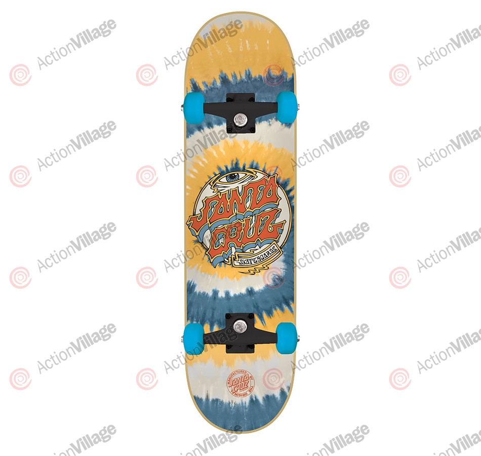 Santa Cruz Trip Dot Powerply - 7.6in x 31.5in - Complete Skateboard