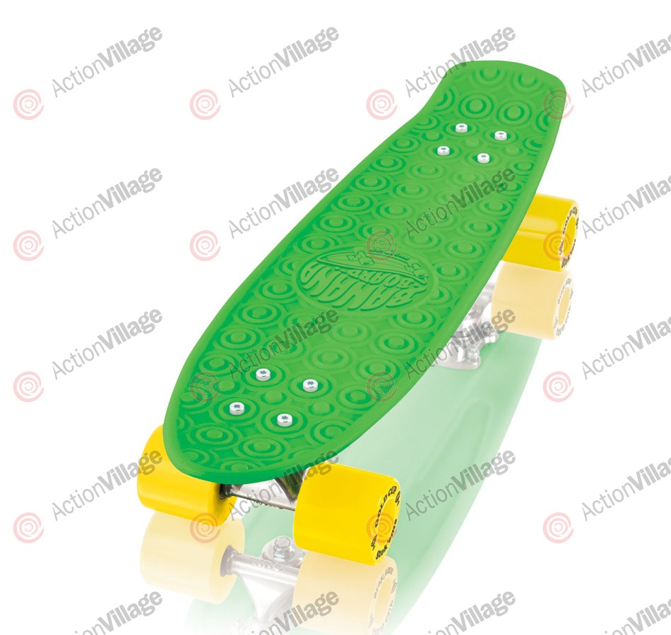 Gold Cup Banana Board Green Cruzer - 6.0in x 23.25in - Complete Skateboard