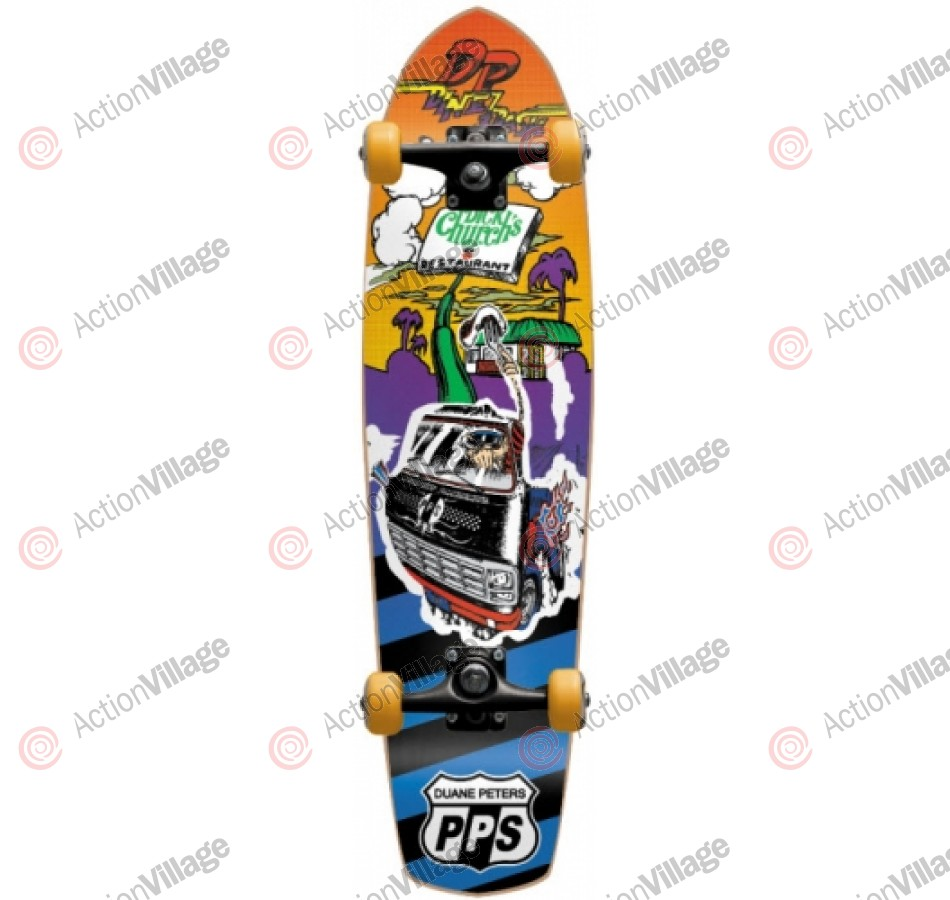 Pocket Pistols Duane Peters Cruiser - Red - 31 - Complete Skateboard