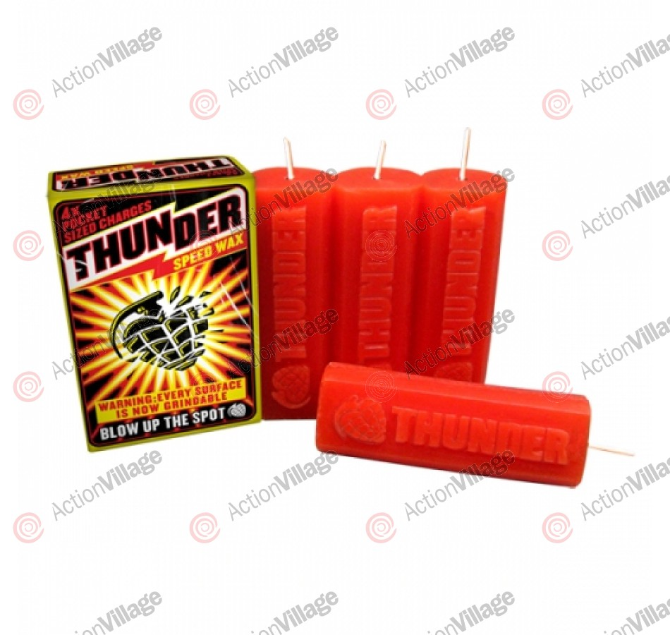 Thunder Curb Speed Wax - - Skateboard Wax