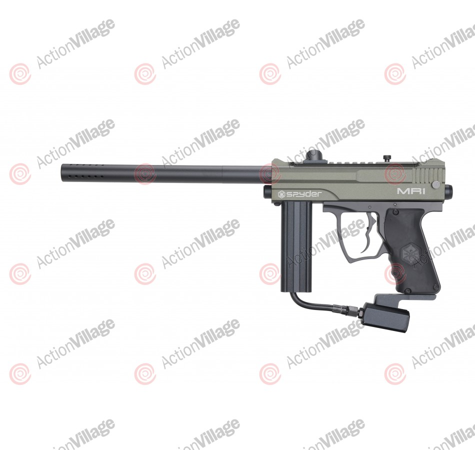 Kingman Spyder MR1 w/ E-Frame Paintball Gun - Olive