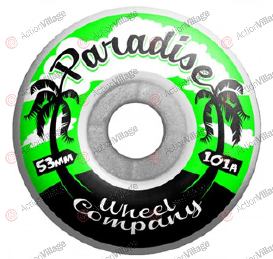 Paradise Wheels Palms - 53mm - Skateboard Wheels