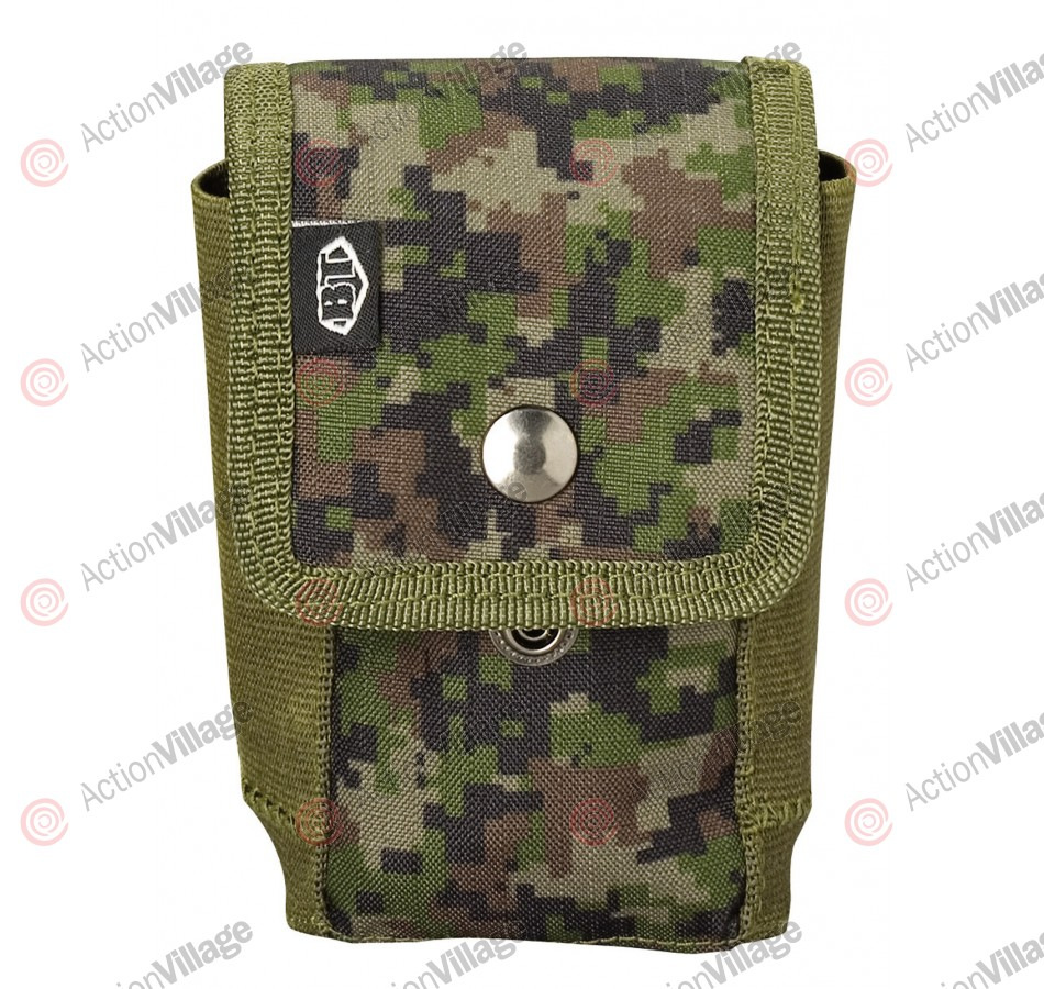 BT Paintball Vest Grenade Pouch - Woodland Digi Camo
