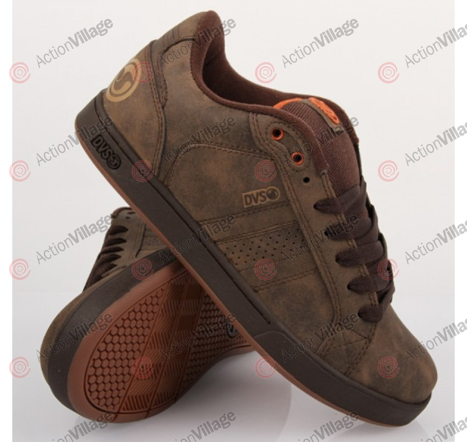 DVS Charge - Brown Leather - Skateboard Shoes
