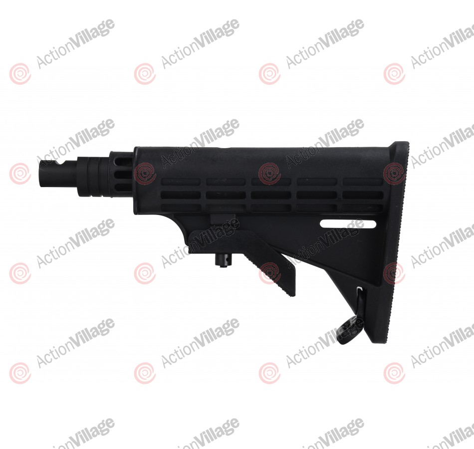 Kingman Spyder MRX Adjustable Car Shoulder Stock - Black