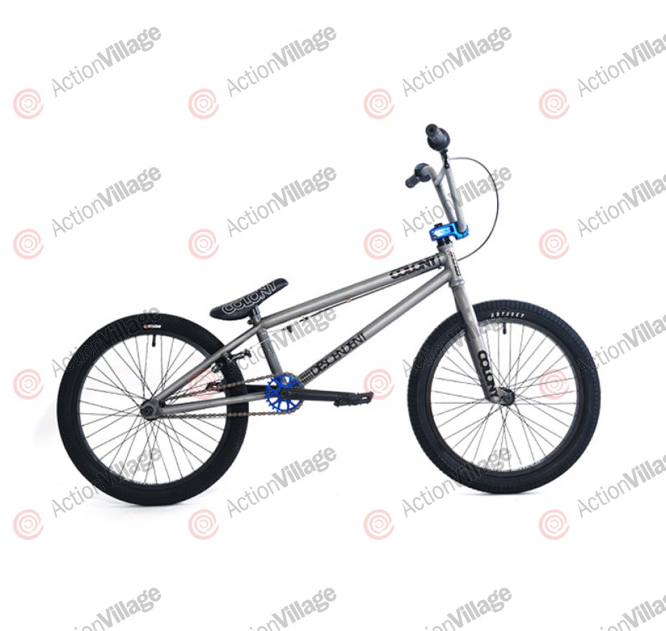 2011 Colony Bikes Descendent - Matte Clear / Blue