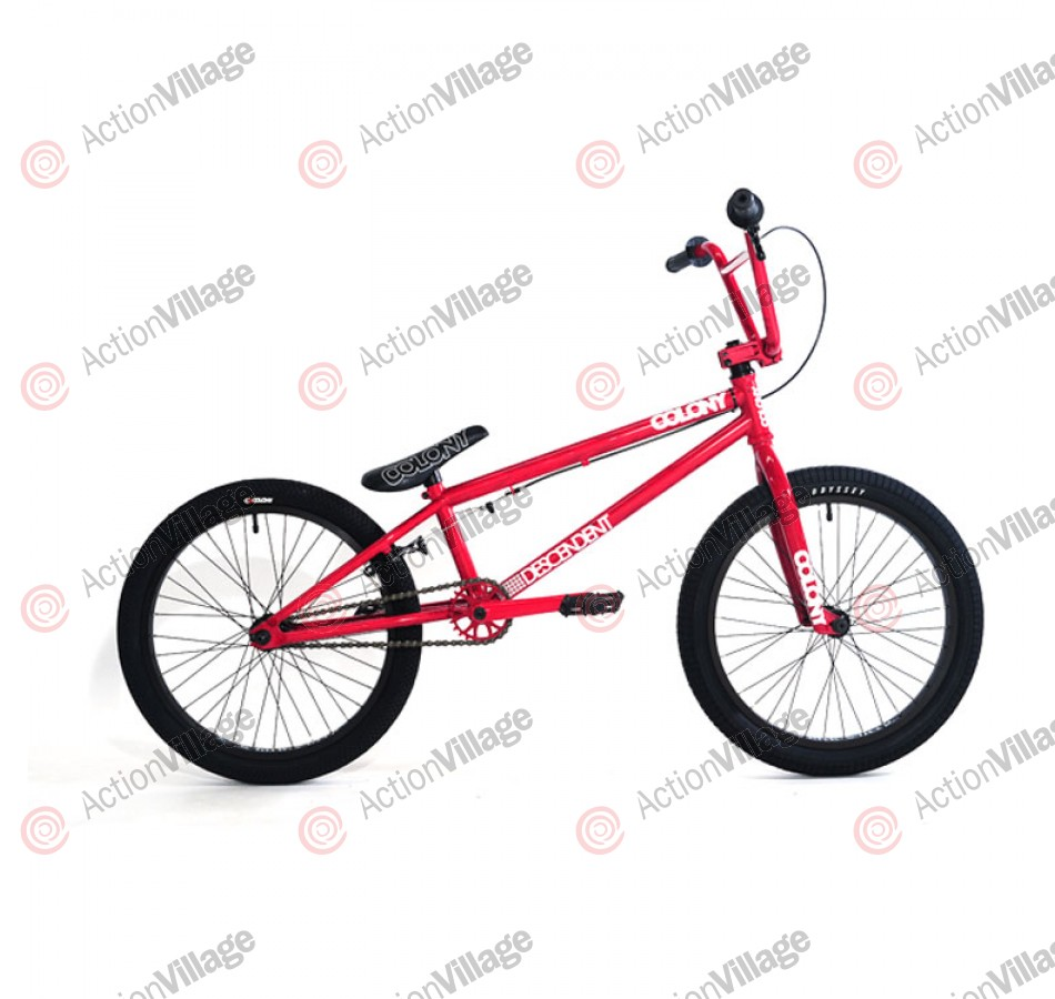 2011 Colony Bikes Descendent - Red Storm / Red
