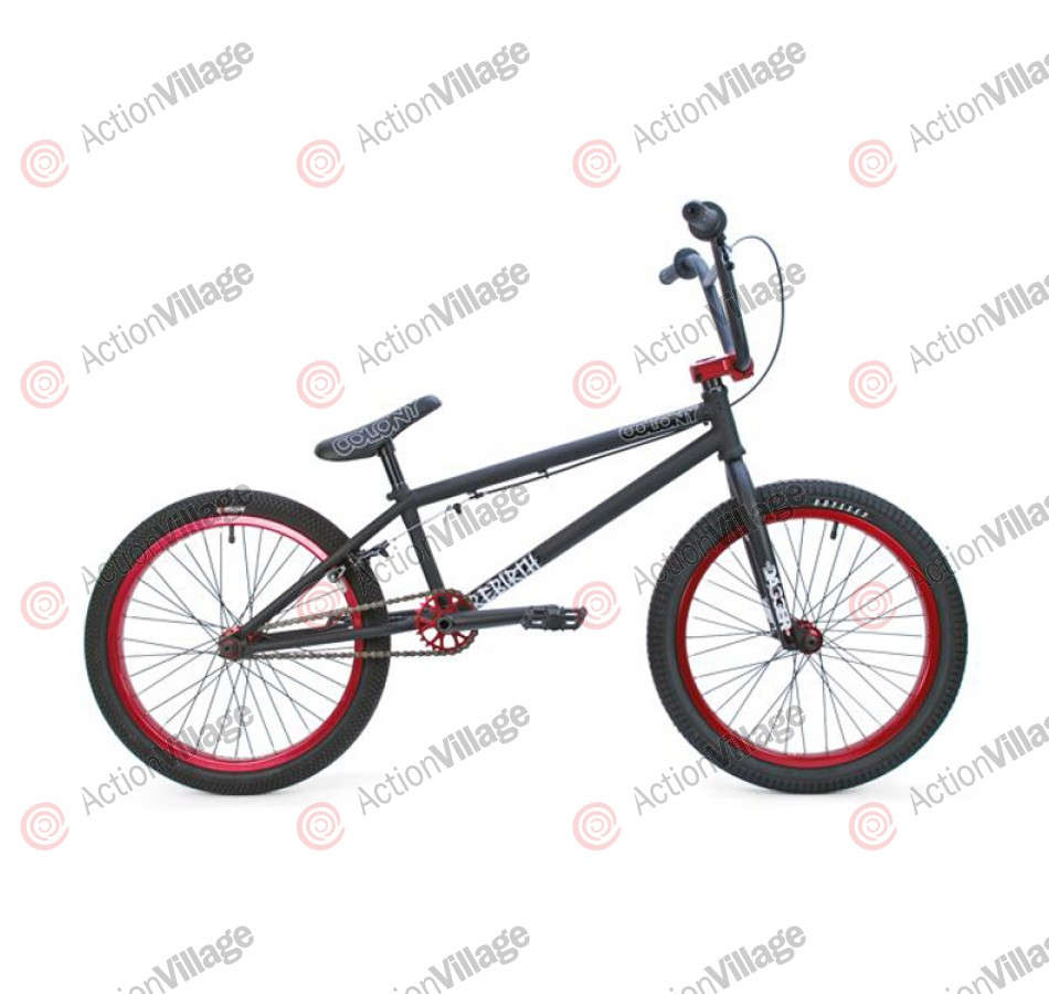 2011 Colony Bikes Rebirth - Black / Red