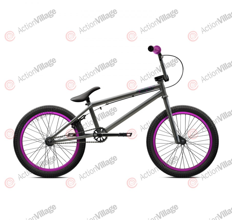 2011 Verde Bikes Prism - Matte Grey / Purple - 20.5