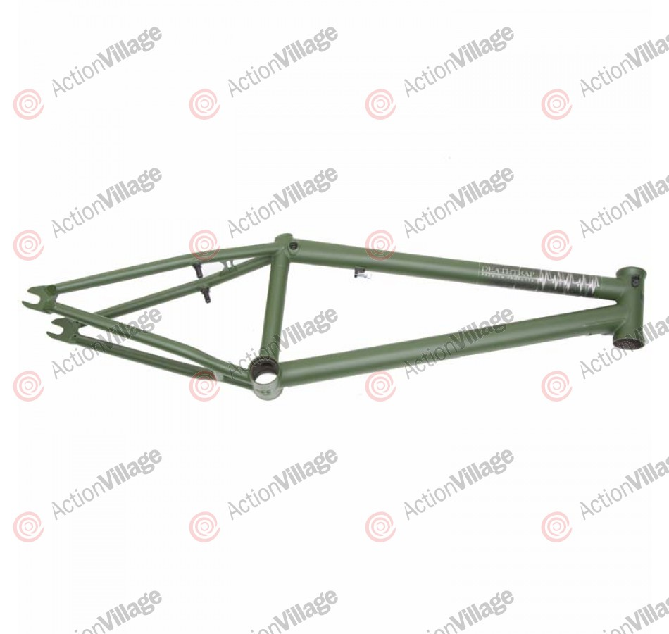 Premium Products Deathtrap - 20.5 Inch - Flat Black - BMX Bike Frame