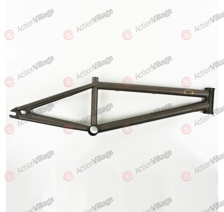 Deco Self Titled - 20.5 Inch - Raw - BMX Bike Frame - Blemished